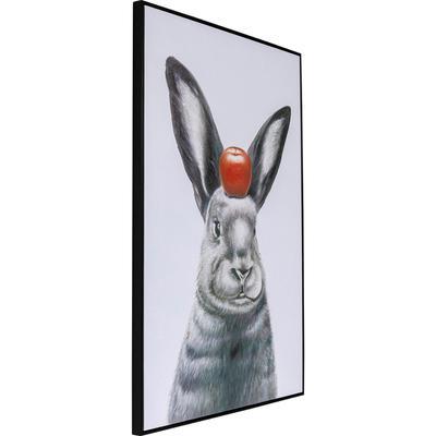 Cuadro Art Apple On A Bunny 120x80cm