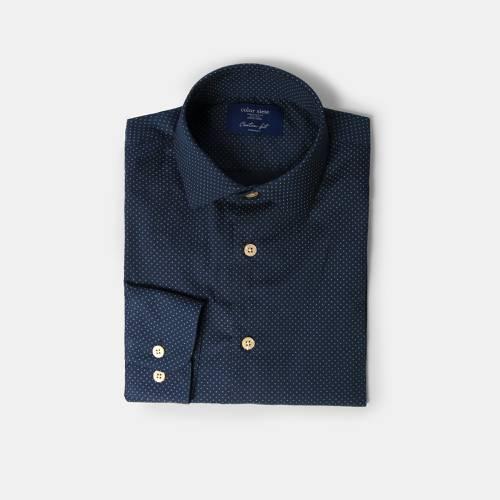Camisa Color Siete para Hombre 5155-3 -  Azul