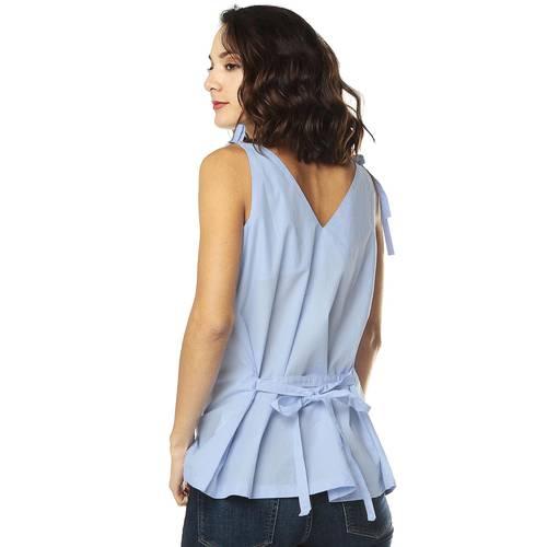 Blusa Color Siete para Mujer-Azul