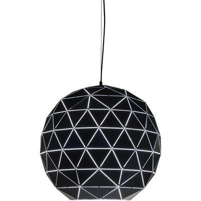 Lámpara Triangle negro Ø60cm