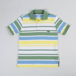 Camiseta tipo polo manga Corta Little Boy