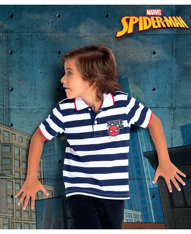 Camiseta Polo Niño Spiderman