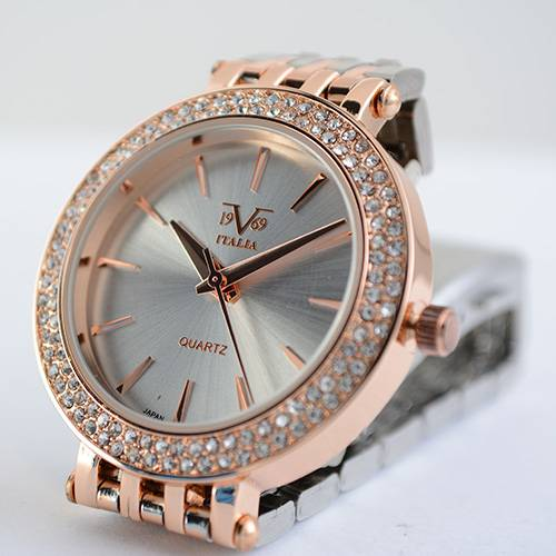 Reloj plata-plateado-oro rosa 55-5