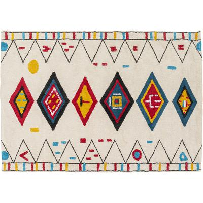 Alfombra Berber blanco 170x240cm
