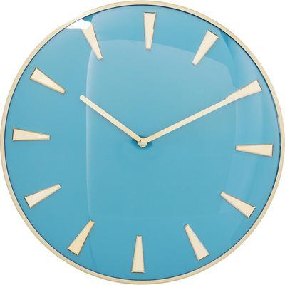 Reloj pared Malibu azul claro Ø40cm