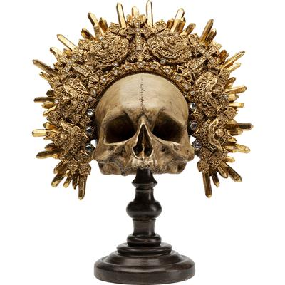 Objeto decorativo King Skull