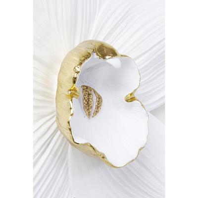Decoración pared Orchid blanco 54cm