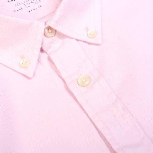 Camisa Oxford Manga Larga - Rosado