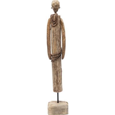 Objeto decorativo African Man