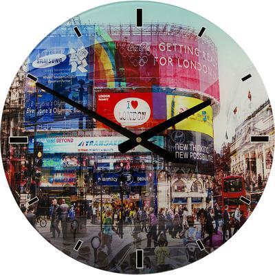 Reloj pared Glas Piccadilly Circus  Ø40cm