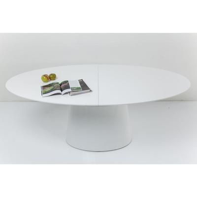 Mesa ext. Benvenuto blanco 200 (50)x110cm