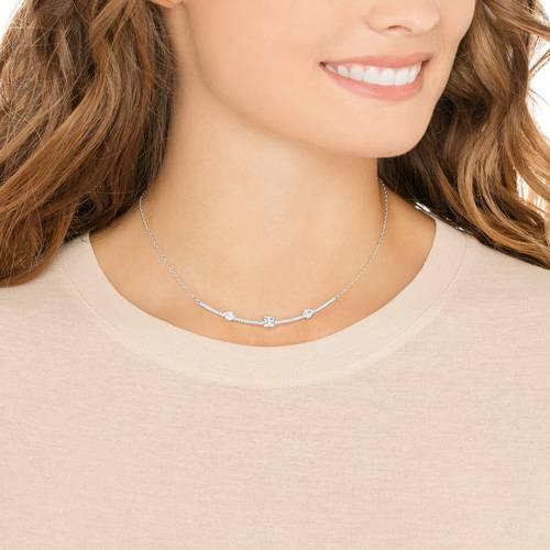 Collar gray blanco 2361