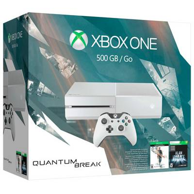 Xbox One 500GB Blanca Edicion Quantum Break