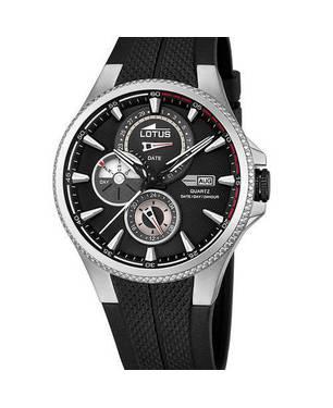 Reloj caucho-negro 18-4