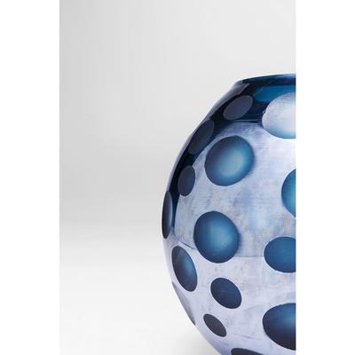 Vasija Blue Dots 17cm