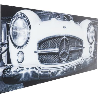 Cuadro cristal Oldtimer Front 60x160cm