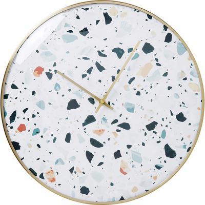 Reloj pared Terrazzo Ø40cm