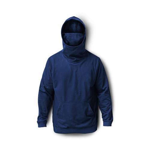 Hoodie Proteccion Con Pasamontañas para Hombre - Azul