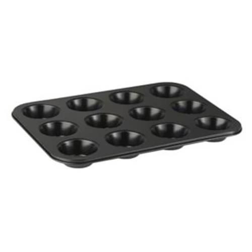 Molde 12 Muffin 34.8X26.4X3Cm Acero Orión Bg