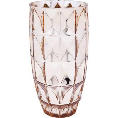 Vasija Precious Triangle dorado 32cm