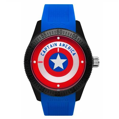 Reloj Análogo Negro-Azul Umb-Ca01-2