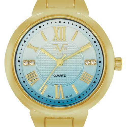 Reloj Azul-Ororosa 95-2 - Versace