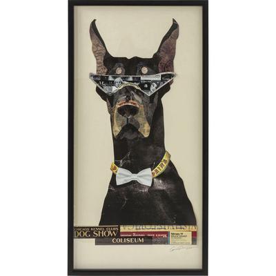 Cuadro Art Cool Dog 121x61cm