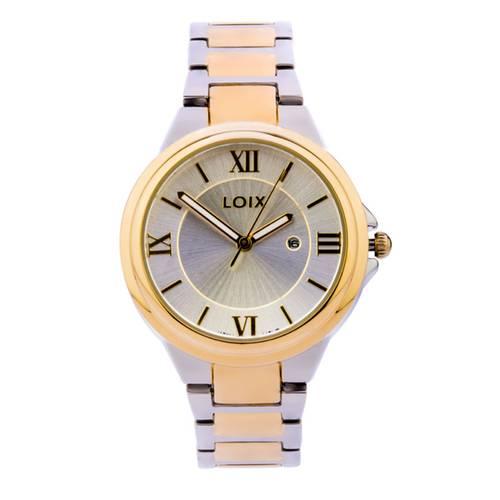 Reloj Gris - Dorado - L1154-04