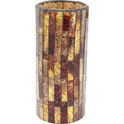 Vasija Mosaico marrón 25