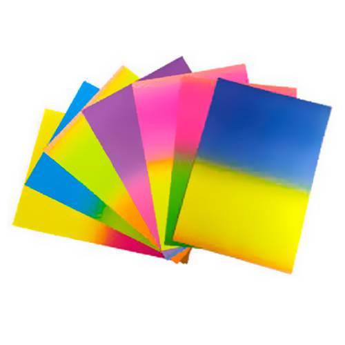 Papel Degrade X7 - X 3 Paquetes - Colores Surtidos