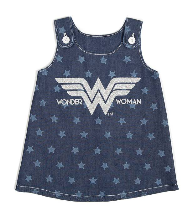 Vestido Bebita Wonder Woman