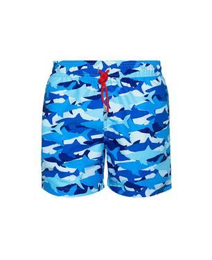 Pantaloneta Galveston Azul