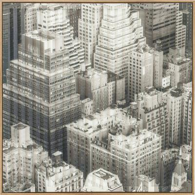 Cuadro Art 3D City View One 80x80cm