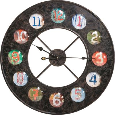 Reloj pared Vintage Colores Ø70cm