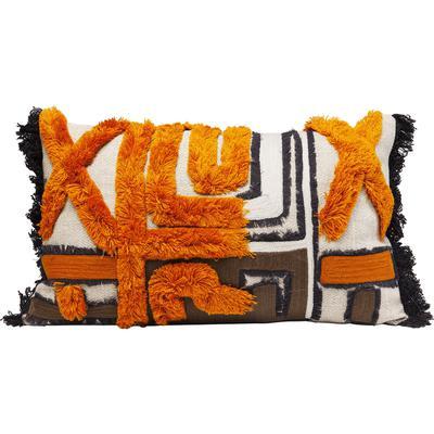 Cojín Wild Life naranja 50x30cm