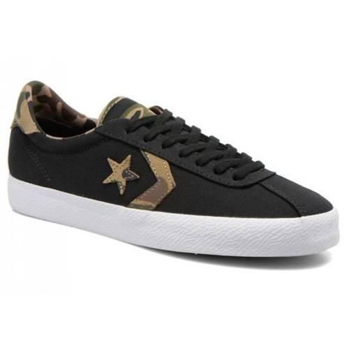 Zapatos Break Point Black-Black-White