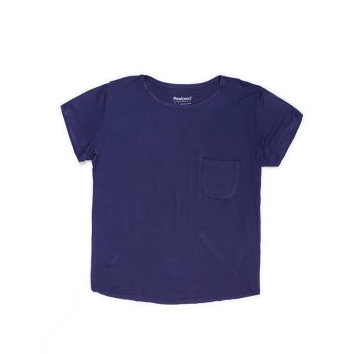 Camiseta Rose Pistol Para Mujer - Azul