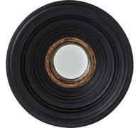 Espejo Convex negro Ø38cm