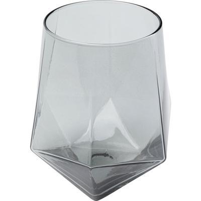 Vaso agua Diamond Smoke