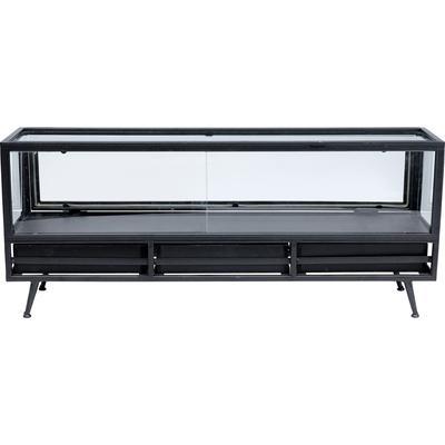 Mueble bajo Display negro