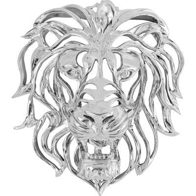 Decoración pared Lion Silber