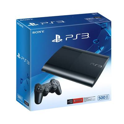 PlayStation 3 500GB + 20 Juegos Digitales + 2 Controles