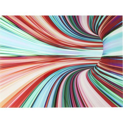 Cuadro cristal Colorful Intoxication 120x160cm