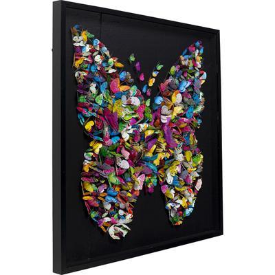 Cuadro Farfalla 120x120cm