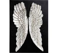 Decoración pared  Wings Silver 110x80cm