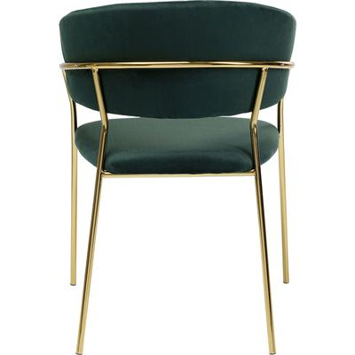 Chair with Armrest Belle Green (2/Set)