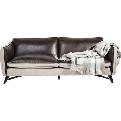 Sofá de piel 3 p. Fashionista