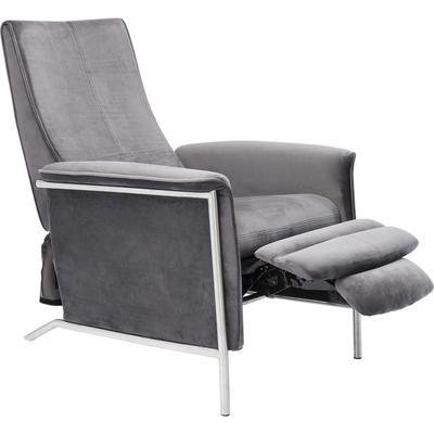 Butaca relax Lazy Velvet gris