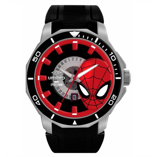 Reloj Análogo Negro-Negro Umb-Sm01-1