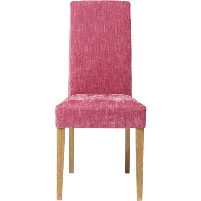 Silla tapizada Econo Slim Shine rosa